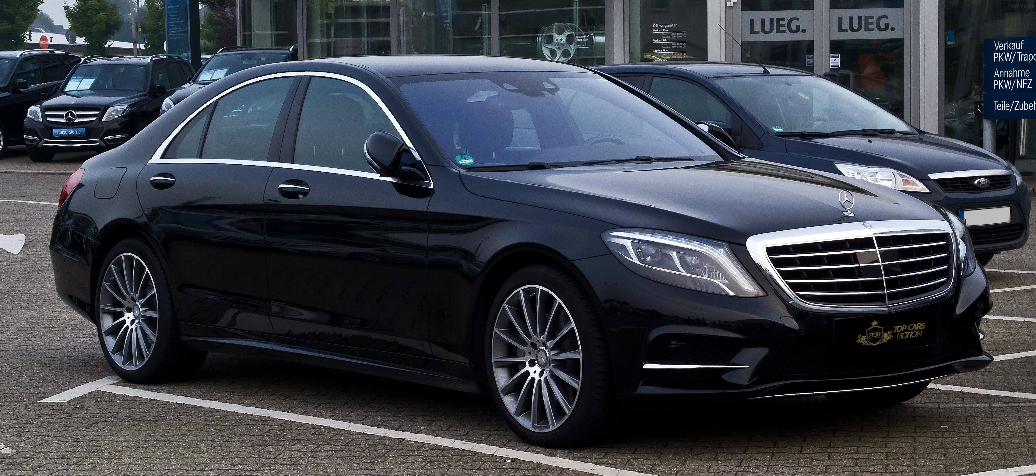 Alquiler Mercedes Benz S350 Top Cars Motion