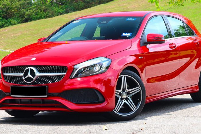 Alquilar Mercedes Benz Clase A 250 AMG
